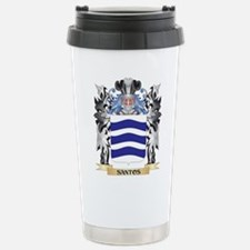 Santos Coat of Arms - F Stainless Steel Travel Mug