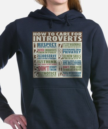 Care for Introvert Sweatshirt