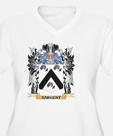 Sargent Coat of Arms - Family Cr Plus Size T-Shirt