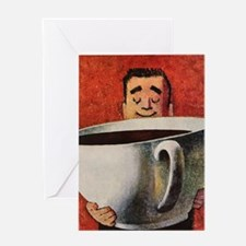 Vintage Coffee Greeting Cards