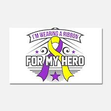 Lupus Endometriosis Hero Car Magnet 20 x 12