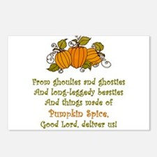 Pumpkin Spice Postcards (Package of 8)