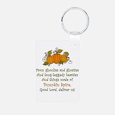 Pumpkin Spice Keychains