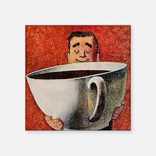 Vintage Coffee Sticker