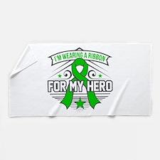 Kidney Disease For My Hero Beach Towel