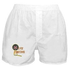 M is for Matches Boxer Shorts