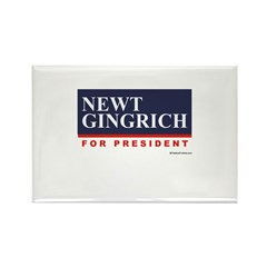 Newt Gingrich Rectangle Magnet (10 pack)