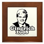 Gingrich 2008 Framed Tile