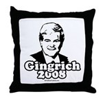 Gingrich 2008 Throw Pillow