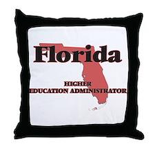 Florida Higher Education Administrato Throw Pillow
