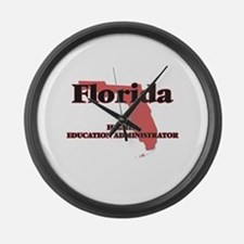 Florida Higher Education Administ Large Wall Clock