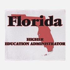 Florida Higher Education Administrat Throw Blanket