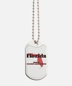 Florida Higher Education Administrator Dog Tags
