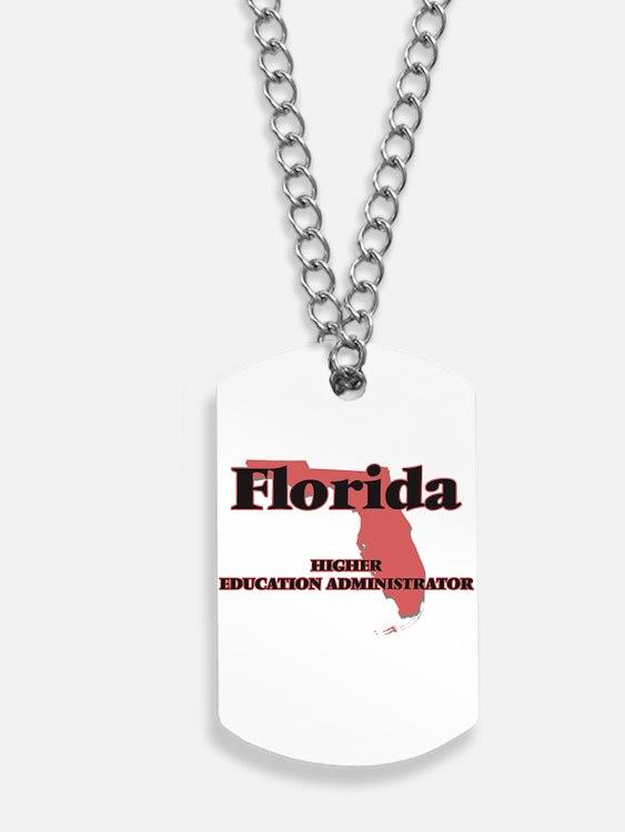 Florida Higher Education Administrator Dog Tags