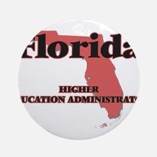 Florida Higher Education Administra Round Ornament