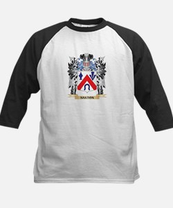 Saxton Coat of Arms - Family Crest Baseball Jersey