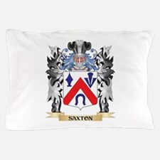 Saxton Coat of Arms - Family Crest Pillow Case