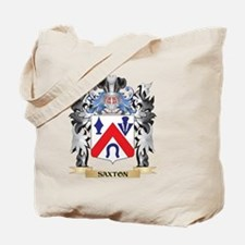 Saxton Coat of Arms - Family Crest Tote Bag