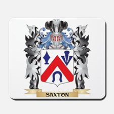 Saxton Coat of Arms - Family Crest Mousepad