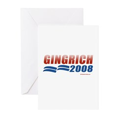 Gingrich 2008 Greeting Cards (Pk of 20)