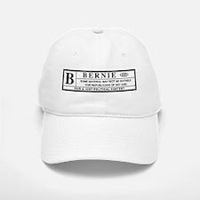 BERNIE SANDERS warning label Baseball Baseball Baseball Cap
