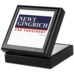 Newt Gingrich for President Keepsake Box