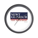 Newt Gingrich for President Wall Clock