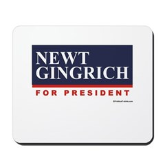 Newt Gingrich for President Mousepad