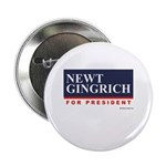 Newt Gingrich for President Button