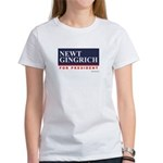 Newt Gingrich for President Women's T-Shirt