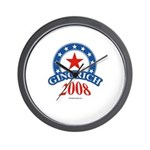 Gingrich 2008 Wall Clock