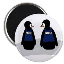 Unique A penguin Magnet