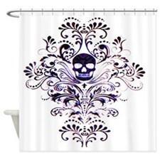 Skull III Shower Curtain