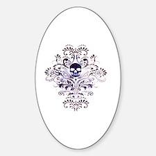 Skull III Sticker (Oval)