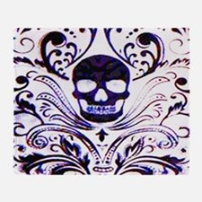Skull III Throw Blanket