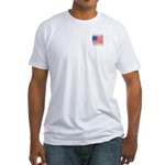 Vote for Gingrich Fitted T-Shirt