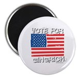 Vote for Gingrich Magnet
