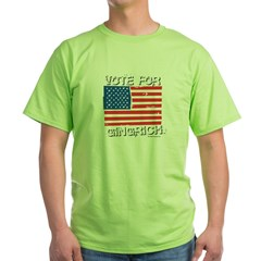 Vote for Gingrich T-Shirt