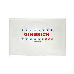 Gingrich 2008 Rectangle Magnet (10 pack)