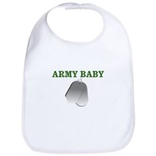 Cute Army girls Bib