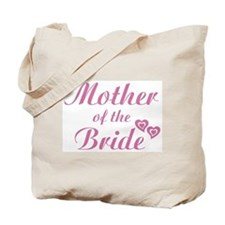 Mother of Bride Pink Tote Bag