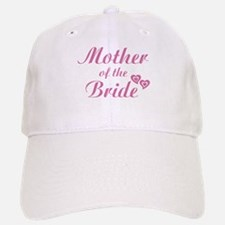 Mother of Bride Pink Baseball Baseball Cap