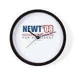 Newt 08 Wall Clock