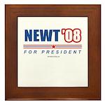 Newt 08 Framed Tile