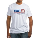 Newt 08 Fitted T-Shirt