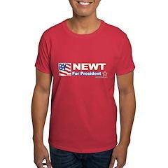 Newt for President T-Shirt