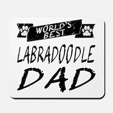 Worlds Best Labradoodle Dad Mousepad
