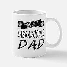 Worlds Best Labradoodle Dad Mugs