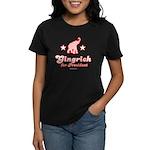 Gingrich for President Women's Dark T-Shirt