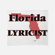 Florida Lyricist Throw Blanket